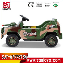 Hot sale electric jeep for kids ride on big Jeep with light and music Plastic material electric baby Jeep HT-99818