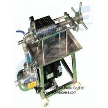 Presse de filtre de plat et de cadre d'acier inoxydable, presse de filtre de cadre de plat de solides solubles de presse de filtre de Leo