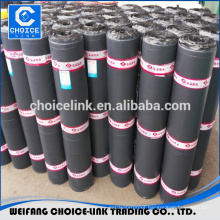 self-adhesive modified fiber bitumen waterproof membrane