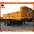 Heavy Duty 2 Axle Square Shape End Tipper/ Dump Truck Trailer