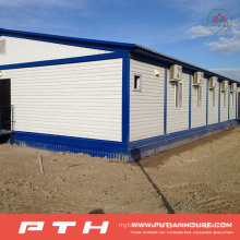 Low Cost Flat Pack Container House for Prefabricated Home Building
