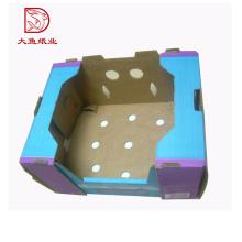 Горячая распродажа новый персонализированные рифленые коробки упаковки фруктовая ферма