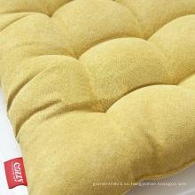 Tela de gamuza de poliéster 75 * 180 D para la cubierta del sofá y almohada
