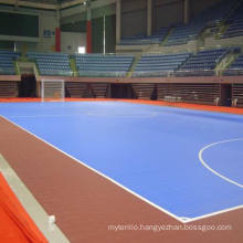 2017 New Product with High Quality Indoor PVC and PP Interlock Sports Floor for Sports