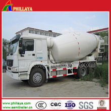 12 Cbm (6-16 CBM opcional) Betoneira Truck Trailer especial