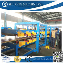 CE Approuvé EPS et Rock Wool Sandwich Wall Panel Board Cold Roll Forming Machine Production Line