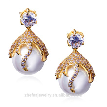 Cheap clip earrings famous fashion brand imitation jewelry