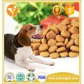 Alimentos para animais de alta energia com alto teor de carne de cálcio sabor seco alimento para cães