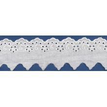 Charming hermosos diseños bordados de encaje de tela para vestido de novia de encaje guipur