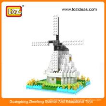 Ветряная мельница алмазные строительные блоки обучающие игрушки (арт. № 9363)