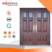 Solid Wooden Fire Rated Wooden Church Door Design With BM TRADA