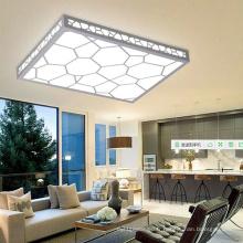 Plafonnier en bois de cube de l'eau LED de PVC de qualité / plafonnier