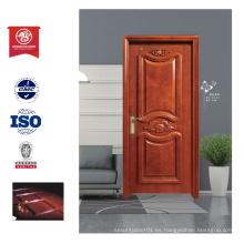 Stlye de puerta de madera ignífugo caliente de la venta para el hogar