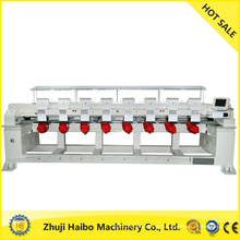 computerized embroidery machine with thick thread and flat 8 head flat &sequin embroidery machine 8 head sequin e