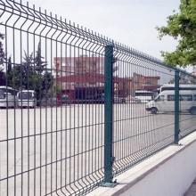 Оцинкованная гибка Сварная железная проволока Забор