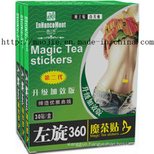 Left-Handed 360 Magic Tea Stickers for Weight Loss