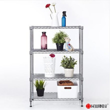 Venda quente Adujustable DIY Chrome Metal Wire Display Stand