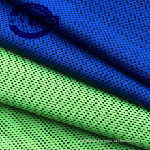 100% polyester yarn-dyed honeycomb coolness fabric for sportswear