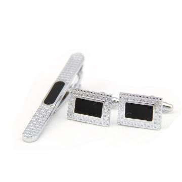 Pinces à cravate simples en acier inoxydable avec pinces à cravate pour hommes