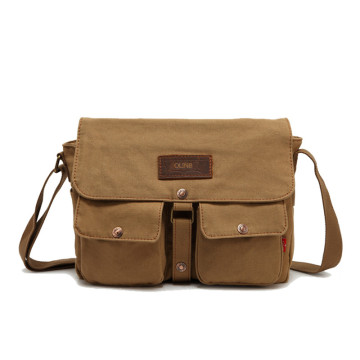 Herrväskor Crossbody Casual Canvas Messenger Bag Axel