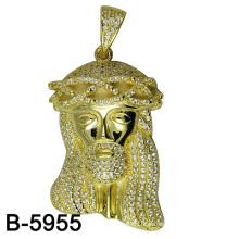 La última joyería de la manera del diseño colgante plata 925 para los hombres