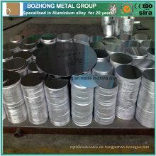 6060 Aluminium Circle für Kochutensilien China Lieferant