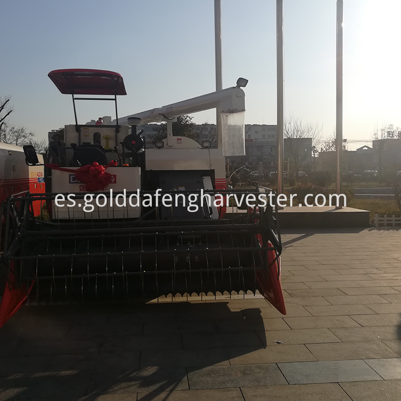 threshing system rice combine harvester