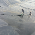 1.5mm HDPE Geomembrane Pond Liner Underlay
