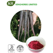 Extracto de rábano negro, 10: 1, 25% de antocianina, 25% de antocianidinas