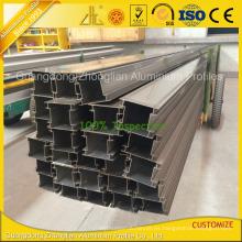 Extrusión de perfil de aluminio extruido personalizado para el perfil de partición