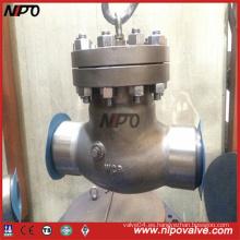 Válvula de retención de acero inoxidable fundido Bw / RF