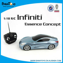 1:18 4 funciones de control de radio modelo de coche