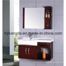 Gabinete de banheiro de madeira maciça / vaidade de banheiro de madeira maciça (KD-420)