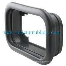 Custom Rectangular Pull Through Rubber Wire Grommet