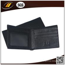 La mejor billetera de cuero de vaca de calidad para damas fabricada en China (HJ5073)