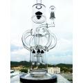 2016 Nouveau design Four Rockets Recycler Glass Fumeur d'eau avec le prix de gros