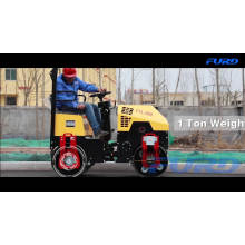 Ride on 1 Ton Sheep Foot Roller Compactor (FYL-880)