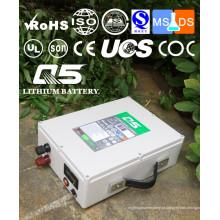 12V100AH Baterias de lítio industriais Lithium LiFePO4 Li (NiCoMn) O2 Polymer Lithium-Ion recarregável ou personalizado