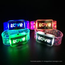 bracelet d'éclairage led