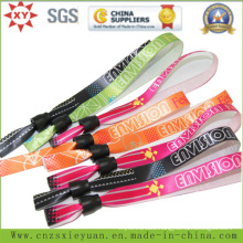 Custom Logo Polyster Woven Hand Band for Promotional
