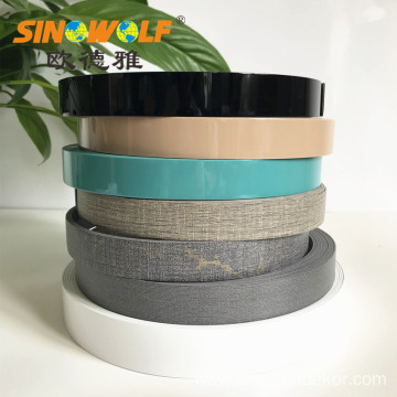 ABS Edge Banding Solid Color High Gloss Edging