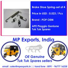 Original Tuk tuk Spares Brake Shoe Spring Ape Piaggio