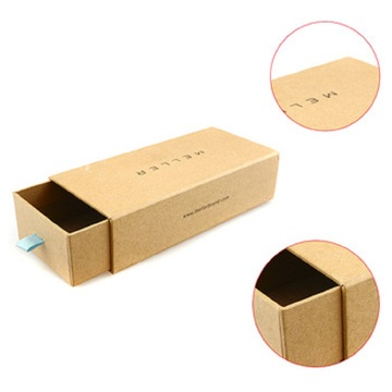 Printing Corrugated Kraft Slide Open Paper Box