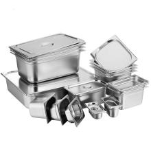 Gastronormbehälter aus Edelstahl für das Hotelrestaurant