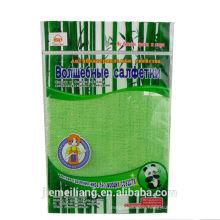 good sale bamboo dish cloth& microfiber bamboo cloth& fiber wash cloth