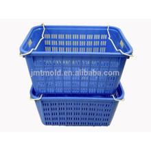 El buen precio modificó los moldes para requisitos particulares de la cesta del molde de las cestas de malla plásticas de los moldes