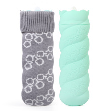 Mini Hot Water Bottle Gift Set Silicone Hot Water Bag