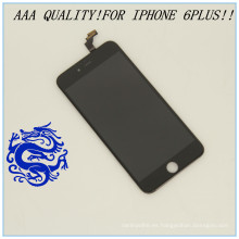 China Teléfono móvil con vidrio frontal para iPhone 6 Plus Pantalla LCD