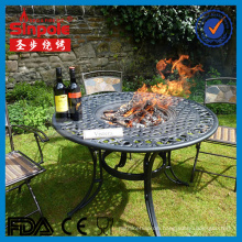 2016 Hot Selling Cast Aluminum Fire Pit with BBQ Grill (SP-FT080)