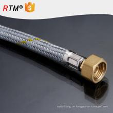 J1 erweiterbar Badezimmer Sanitär nützlich Dusche Rohr Doppelverschlüsselung Galvanik Kupfer Kern Zink Kappe Badezimmer Dusche Rohr